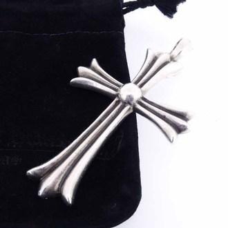 CHROME HEARTS Wベイル ラージクロス ペンダント ネックレスお買取りさせて頂きました!!!