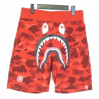 A BATHING APE  SHARK SWEAT SHORTS PANTS 買取り致しました!!