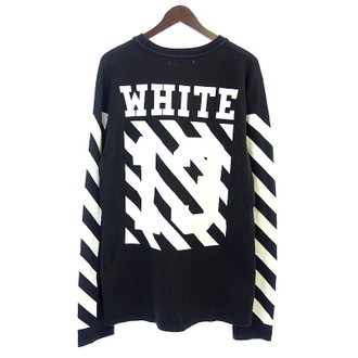OFF WHITE 15SSバックバイアス長袖カットソーお買取りさせて頂きました!!!