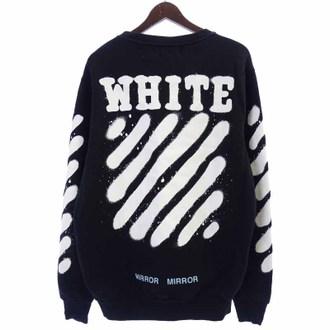 オフホワイト/OFF WHITE 17SS DIAG SPRAY CREWNECK バイアスプリントクルーネックスウェットお買い取りさせて頂きました!!!