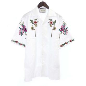 グッチ/GUCCI 17SS フラワー刺繍半袖シャツお買い取りさせて頂きました!!!