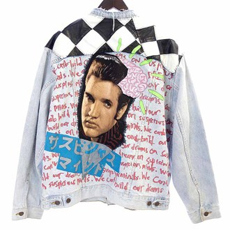 ILIL TOKYO 17SS Elvis denim サスピシャス マインド デニムジャケットお買取りさせて頂きました!!!