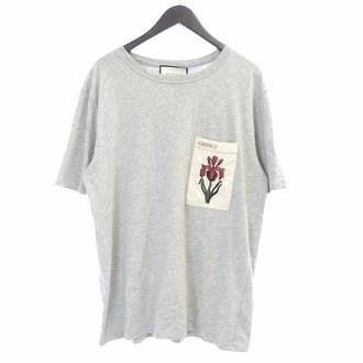 GUCCI 16SS ヴィンテージ加工 アイリス アップリケ Tシャツ お買取りさせて頂きました!!!