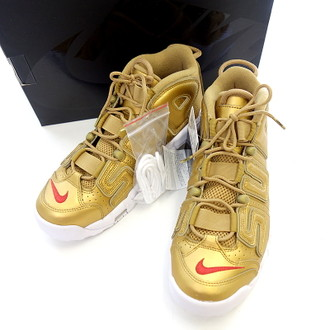 SUPREME NIKE AIR MORE UPTEMPO GOLDスニーカーお買取りさせて頂きました!!!