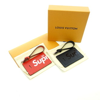 LOUIS VUITTON 17AW ×supreme LV Name Tags ロゴプリントキーホルダーセットお買取りさせて頂きました!!!
