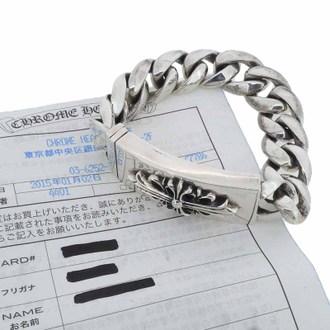 ロムハーツ/CHROME HEARTS 現行フローラルクロスIDクラシックブレスレット 11リンク お買取させて頂きました!(^^)!