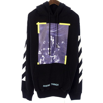 OFF WHITE 17AW DIAG CARAVAGGIO HOODIE カラヴァッジョプリント パーカー お買取りさせて頂きました!!!