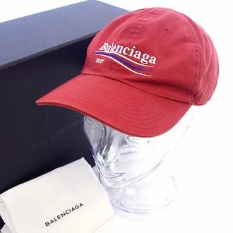 BALENCIAGA 17AW Logo Baseball Capお買取りさせて頂きました!!!