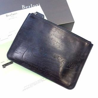 ベルルッティ/BERLUTI カリグラフィ セカンドバッグ クラッチバッグ 買取実績。