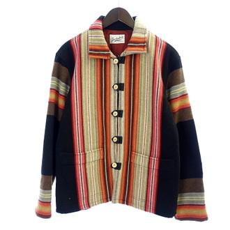 テンダーロイン/TENDERLOIN 14AW ネイティブ柄ラグジャケットをお買取り致しました。