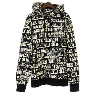 シュプリーム/supreme ×HYSTERIC GLAMOUR 17AW Text Hooded Sweat お買取実績