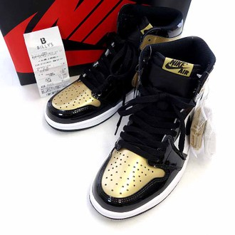 ナイキ/NIKE AIR JORDAN 1 RETRO HIGH OG NRG GOLD TOE  お買取り実績
