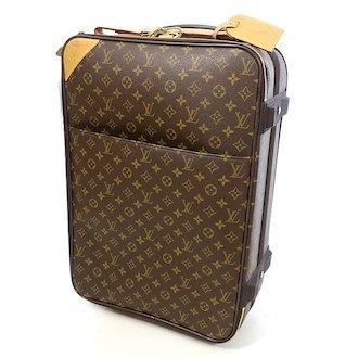 ルイヴィトン モノグラム ペガス 50 キャリーバッグ スーツケース お買取致しました。