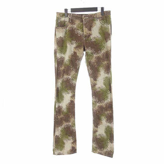 ルシアンペラフィネ/LUCIEN PELLAT-FINET デジタル カモフラ 迷彩 スカル 刺繍パンツ 買取致しました。 買取参考価格は 1,000~2,000円前後 となっております。