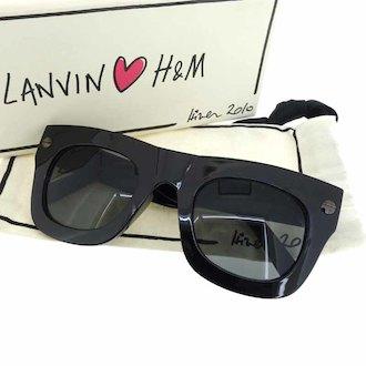 ランバン/LANVIN ×H&Mサングラス 参考買取価格3000円
