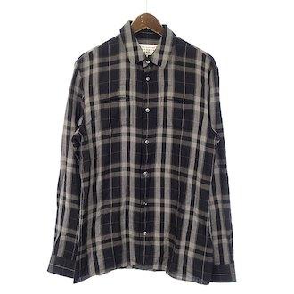 マルタンマルジェラ/MARTIN MARGIELA 15AW コットン チェックシャツ 参考買取価格5.000~7.000前後