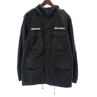 【ワコマリア/WACKOMARIA GUILTY PARTIES M-65 バック刺繍 ジャケット  買取参考価格 5.000~10.000円前後 】