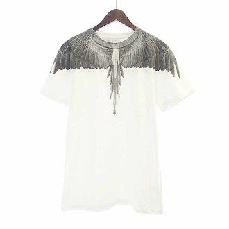 マルセロバーロン/MARCELO BURLON フェザープリントTシャツ 参考買取価格3.000~4.000前後