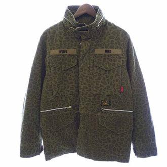 ダブルタップス/WTAPS レオパード柄M65ジャケット 買取致しました。  買取参考価格は 15.000~20.000円前後 となっております。