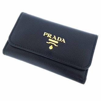 プラダ/PRADA レザーキーケースアクセサリー 参考買取価格2.000~3.000前後