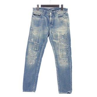 リサウンドクロージング/RESOUND CLOTHING コーデュロイ パッチワーク インディゴパンツ 買取参考価格 5.000~10.000円前後