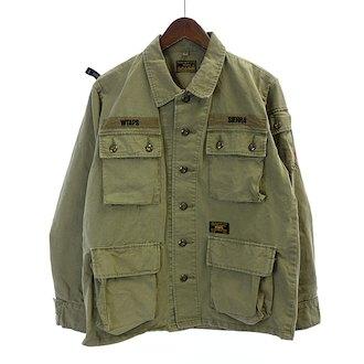 ダブルタップス/WTAPS 17SS JungleLs 長袖 ミリタリー シャツ ジャケット 買取致しました。 買取参考価格は 20.000~25.000円前後 となっております。