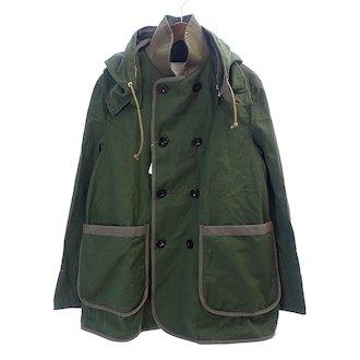 サカイ/SACAI 16ASS Pea Coat Removable Hood Pコートジャケット 買取参考価格は 8.000~15,000円前後 となっております。