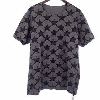 カズユキクマガイアタッチメント/KAZUYUKI KUMAGAI ATTACHMENT 15SS スター柄 プリント ダブルジャージ クルーネック カットソー Tシャツ 買取致しました。 買取参考価格は 4.000~5.000円前後 となっております。