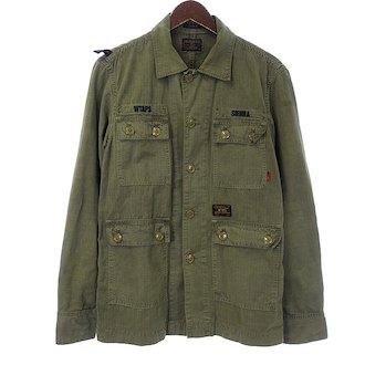 ダブルタップス/WTAPS 14SS JUNGLE L/S ジャングル 長袖ジャケット 買取致しました。