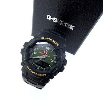 ヒステリックグラマー/HYSTERIC GLAMOUR G SHOCK G-100-1BMJF 5158 ウォッチ 腕時計 買取致しました。 買取参考価格は 7,000~9,000円前後 となっております。