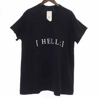 ユリウス/JULIUS 17SS HELL プリント ワイド スウェット 半袖 Tシャツ カットソー  買取参考価格 4,000~5,000円前後