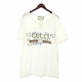 グッチ/GUCCI ココキャピタン ヴィンテージ ダメージ加工 ロゴ プリントTシャツ 参考買取価格25.000~30.000円前後