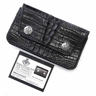 ガボラトリー/GABORATORY crocodile tail piece biker wallet クロコダイルウォレット 買取参考価格 40.000~60.000円前後