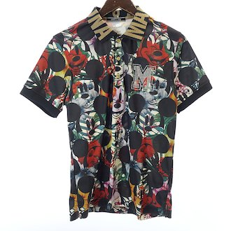 マークアンドロナ/MARKLONA ミッキーボタニカル花柄ポロシャツ お買取りさせて頂きました!