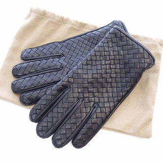 ボッテガヴェネタ/BOTTEGA VENETA 裏 カシミヤ イントレチャート レザー 手袋グローブ お買取り致しました!