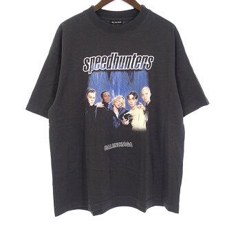 バレンシアガ/BALENCIAGA  18AW Speedhunters Boysband プリントTシャツ