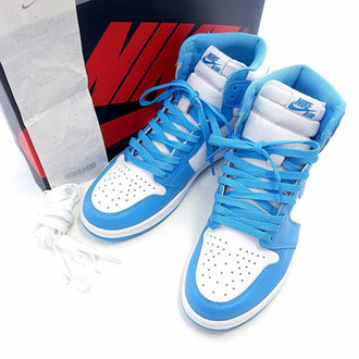 ナイキ/NIKE AIR JORDAN 1 RETRO HIGH OG NORTH CAROLIN 参考買取価格10.000~15.000円前後