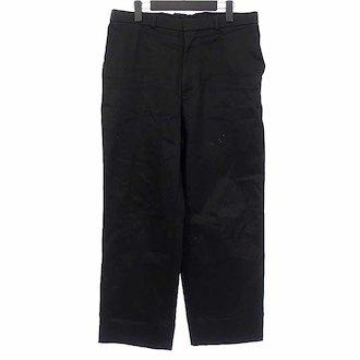 ラフシモンズ/RAF SIMONS 17AW Wide leg pant tape pleats back テープワ参考買取価格15.000円前後
