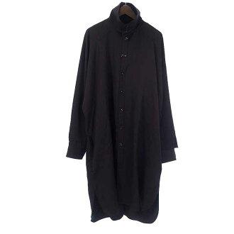 ヨウジヤマモト/YOHJI YAMAMOTO 17AW LOOK4 カラーデザインウールギャバジンビッグシャツ参考買取価格25.000円前後