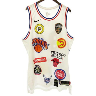 シュプリーム/SUPREME 18SS Nike NBA Teams Authentic Jersey タンクトップ