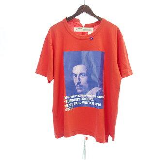 オフホワイト/OFF WHITE 18AW BERNINI S/S OVER TEE 再構築フォトプリントTシャツ 買取参考価格 18.000円から22.000円前後
