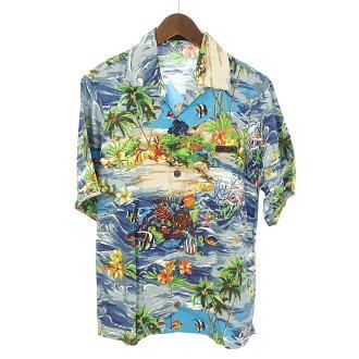 プラダ/PRADA 18SS printed aroha shirts アロハシャツ参考買取価格20.000円前後