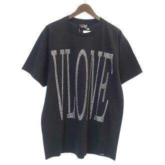 ヴィーローン/VLONE 18SS RHINE STONE logo TEETシャツ参考買取価格8.000円前後