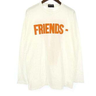 ヴィーローン/VLONE FRIENDS TEE プリント ロング スリーブTシャツ