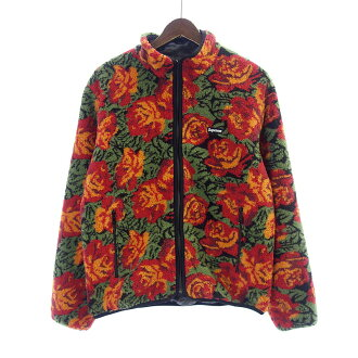 シュプリーム/SUPREME 16AW Roses Sherpa Fleece Reversible Jack 参考買取価格25.000~30.000円前後