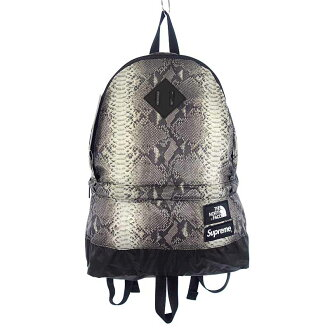 シュプリーム/SUPREME 18SS x THE NORTH FACE Snake Skin Lightweight Day Pack リュック参考買取価格7.000円前後