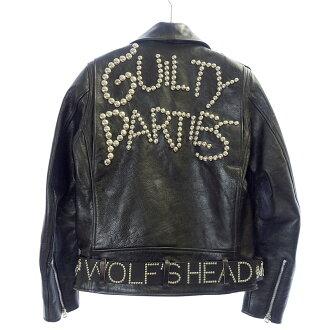 ウルフズヘッド/WOLF'S HEAD ×WACKO MARIA 13SS スタッズ レザー ライダースジャケット買取致しました。