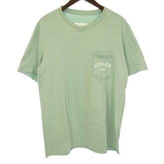 メゾンマルジェラ/MAISON MARGIELA 18SS 10 ATELIER 胸プリントTシャツ