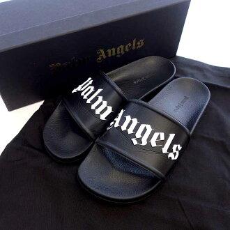 パームエンジェルス/Palm Angels POOL SLIDER ロゴ プール サンダル