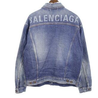 バレンシアガ/BALENCIAGA TBP46 4773 バックロゴ デニムジャケット 買取参考価格40.000円~60.000円